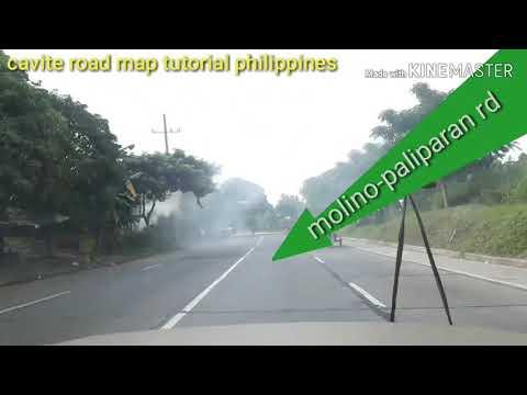Road Map Tutorial. General Trias Via Dasma Pala Pala,paliparan Molino