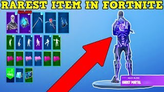 PURPLE GHOST PORTAL ACCOUNT! | RAREST ITEM IN FORTNITE! | OG SKULL TROOPER BACKBLING!