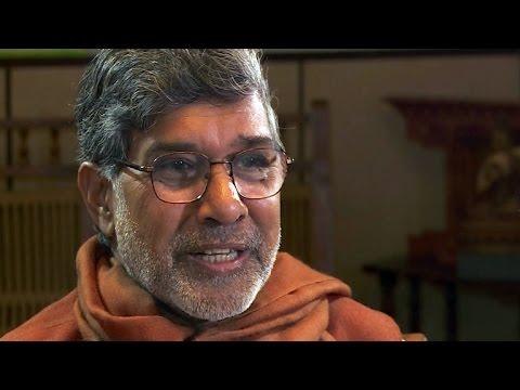Nobel Prize winner using new fame to fight child slavery