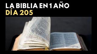 LA BIBLIA EN 1 AÑO - DÍA 205