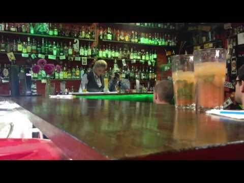Bartender in Tel Aviv - master class of Ray White (St-Petersburg) - part 1