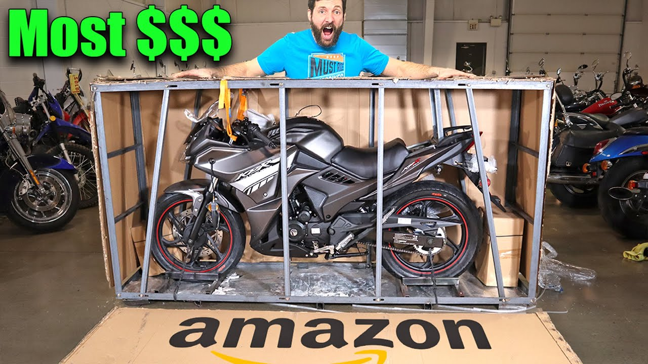 I BOUGHT the MOST EXPENSIVE street legal bike on Amazon
