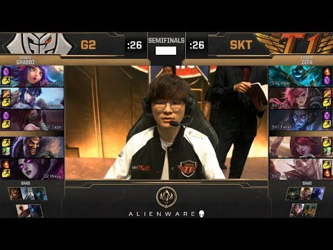 G2 (Caps Akali) VS SKT (Khan Hecarim) Game 2 Highlights - 2019 MSI Semifinals