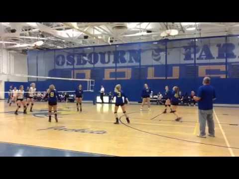 Emily Craig volleyball highlights