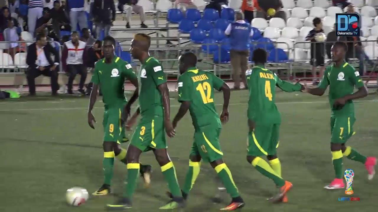 CAN mini-foot Libye : Résumé du match Sénégal-Afrique du Sud