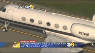 Reports  Houston's Body Flown From Van Nuys To New Jersey « CBS Los Angeles thumbnail
