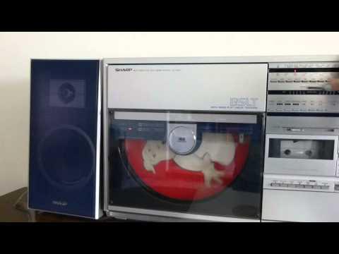 Sharp VZ-3500Z Both Sides Play Record player demo