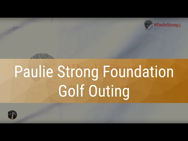 Paulie Strong Foundation & Rudy's Charity Golf Outing - Filmed by Dealer Video Production