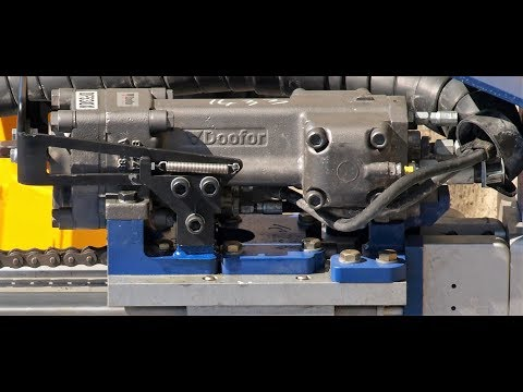 RDH Mining Equipment testing a bolter with Doofor DF530X drifter
