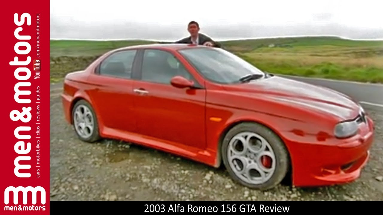 2003 alfa romeo 156 gta review youtube. Black Bedroom Furniture Sets. Home Design Ideas