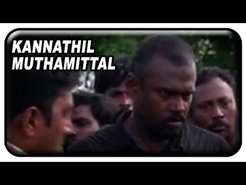 Kannathil Muthamittal Tamil Movie Scenes | Pasupathy Captures Madhavan | Mani Ratnam | AR Rahman