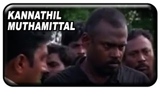 Video Kannathil Muthamittal Tamil Movie Scenes | Pasupathy captures Madhavan | Mani Ratnam | AR Rahman download MP3, 3GP, MP4, WEBM, AVI, FLV Januari 2018