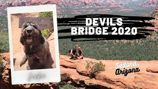 Devils Bridge 2020  Off Roading Sedona, Arizona  Labradoodle  Hike