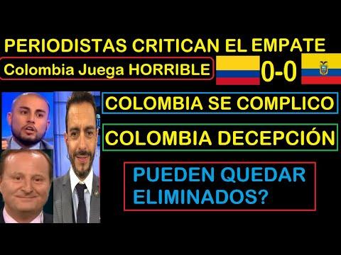 Download PRENSA de Sudamérica CRITICA EMPATE de Colombia en la eliminatoria con Ecuador