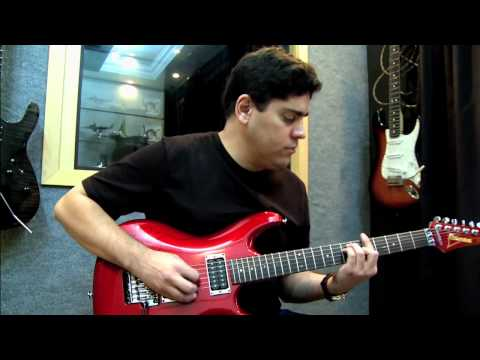 Crowd Chant by Joe Satriani (Wagner Felix) with a Ibanez JS 1200