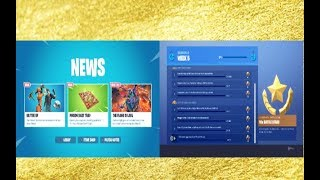 FORTNITE NEW DLC UPDATE NEW BASEBALL SKIN & ITEMS SHOP PLUS NEW WEEK 5 CHALLENGE AVAILABLE NOW