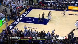 Gonzaga Bulldogs vs  BYU Cougars   -   December 27, 2014