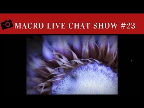 Macro Photography Live Chat #23 - Shari Miller