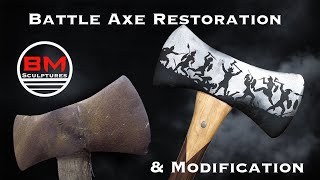 Battle Axe Restoration and Modification.