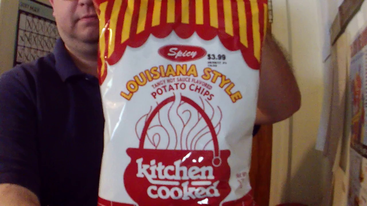 EAT IT! Kitchen Cooked Spicy Louisiana Style Potato Chips 2017 ...