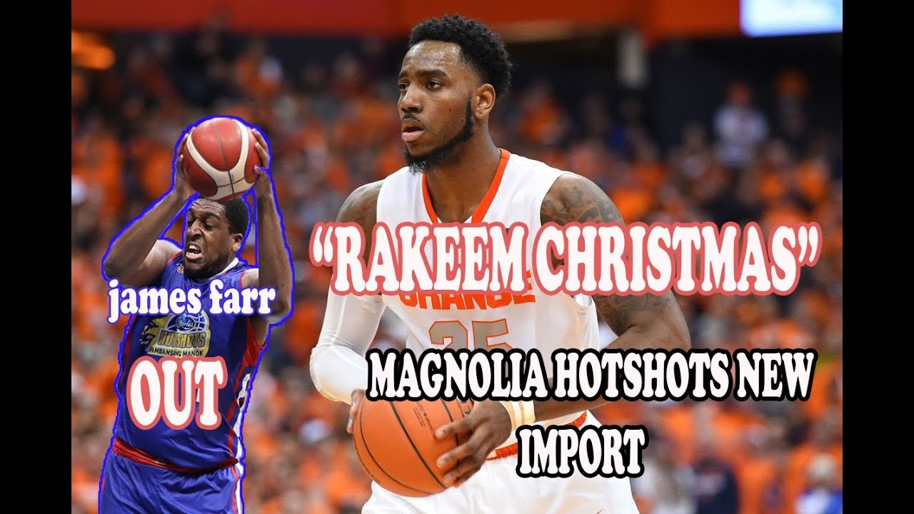 Rakeem Christmas.Rakeem Christmas Highlights Magnolia Hotshots New Import Pba Commissioner S Cup 2019