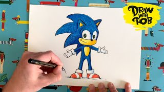 #DrawWithRob *SPECIAL EDITION* Sonic the Hedgehog