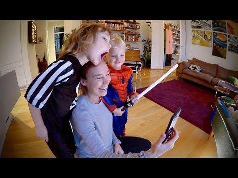 Testar Musical.ly och familjens kvällsrutin VLOGG