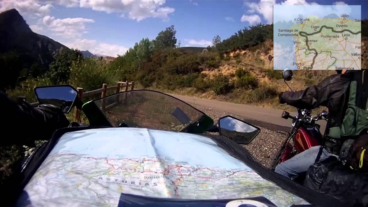 road trip moto france spain portugal 9500 km on a ninja 250r youtube. Black Bedroom Furniture Sets. Home Design Ideas