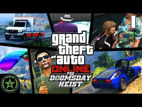 Let's Play - GTA V - The Data Breaches: Prep - Doomsday Heist (#1)