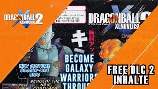 Kostenloser DLC 2 Inhalte und Änderungen - Dragon Ball Xenoverse 2