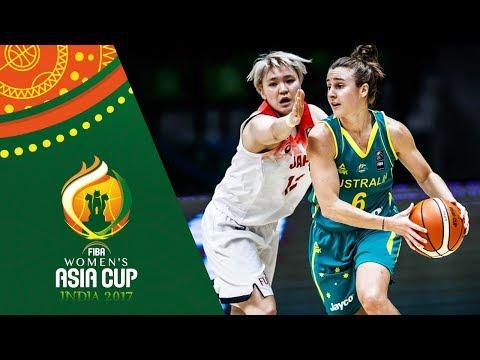 Japan v Australia - Highlights - FIBA Women