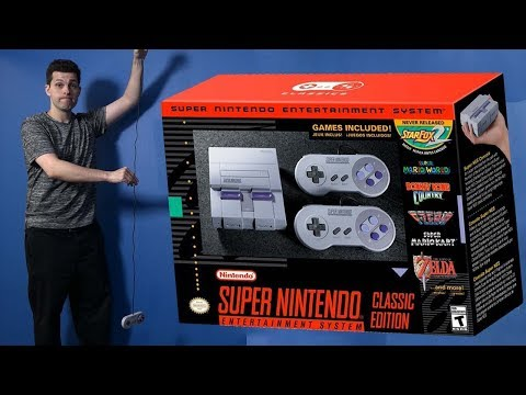 SNES Classic Edition (aka SNES Mini) Review - Talk About Games
