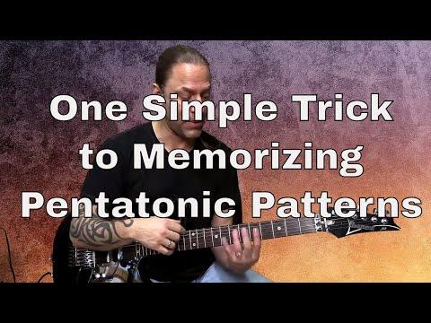 1 Weird Trick to Memorizing Pentatonic Patterns   Steve Stine   Guitar Zoom