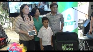 'SCHOOL IN A BAG' PROJECT NG SMART, UMARANGKADA NA