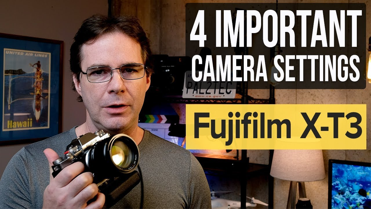 Fujifilm XT3 - Four Important Camera Settings (often forgotten)