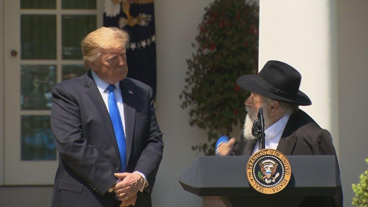 Image result for Rabbi Yisroel Goldstein Trump