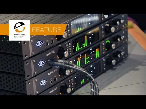 Recording With The Universal Audio Apollo X Series Interfaces - Part 1 Drums