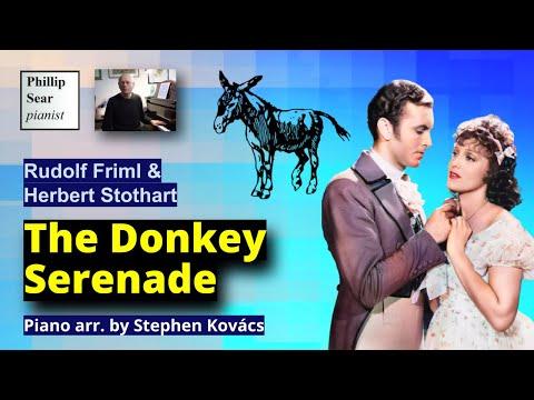 Rudolf Friml & Herbert Stothart : The Donkey Serenade (arr. Kovacs)