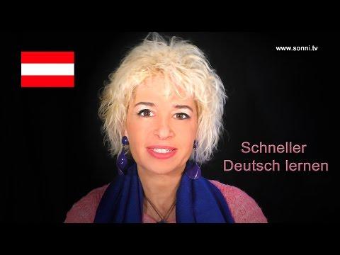 """Schneller Deutsch lernen (von und mit Sonja """"Sonni"""" Hubmann)"""
