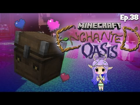 """TRAVELING TRUNK"" Minecraft Enchanted Oasis Ep 38"