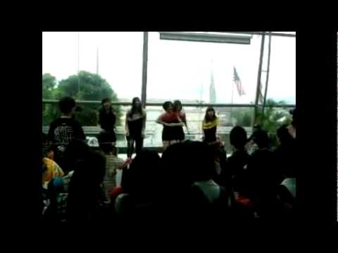 Black Eyed Crew cover Love Is Move by Secret (Fancam)