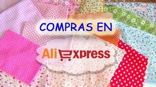 Compras en Aliexpress: fieltro y telas. Shopping in Aliexpress: felt and fabrics.