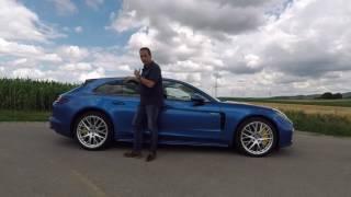 Porsche Panamera Sport Turismo - First Drive Video Review