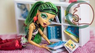 Как сделать книгу для кукол. How to make a book for dolls.