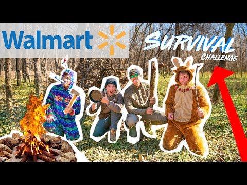 Walmart SURVIVAL SPEED Challenge!!! (2v2)