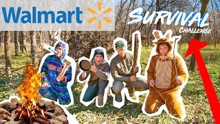 Walmart SURVIVAL SPEED Challenge!!! (2v2)