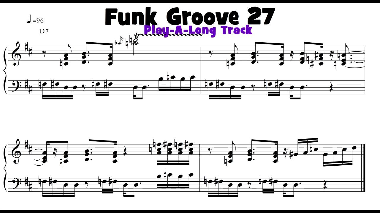Groove 27 funk soul and rb keyboard groove of the day with play groove 27 funk soul and rb keyboard groove of the day with play a long track hexwebz Gallery
