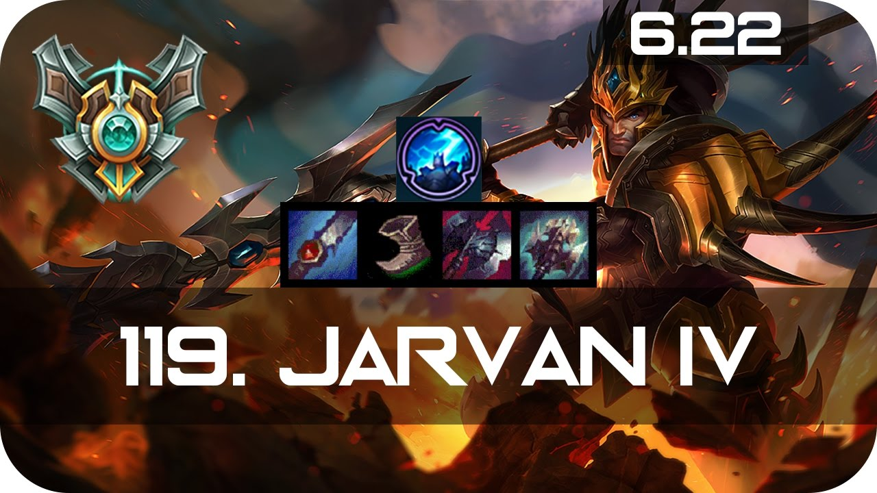 Shaco Build S7: Jarvan IV Jungle Vs Zac Master Preseason 7 Season 7 S7
