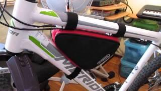 Купил подрамную сумку Roswheel для велосипеда за 150 руб. на ebay.com(Купить похожую велосумку: https://goo.gl/hJzoqz еще ссылка https://goo.gl/ctqqeq и вот ссылка https://goo.gl/uaGfb0 Выиграл на аукционе..., 2015-05-16T13:24:42.000Z)