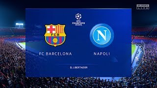 This video is the gameplay of barcelona vs napoli (2nd leg) champions league 2020 if you want to support on patreon https://www.patreon.com/pesme suggested v...